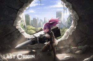 Rating: Safe Score: 59 Tags: arin_sel last_origin ponytail ruins t-60_bulgasari thighhighs weapon User: BattlequeenYume