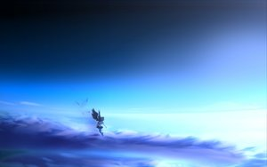 Rating: Safe Score: 89 Tags: clouds shameimaru_aya sky touhou wings User: Sinnie