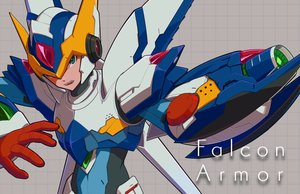 Rating: Safe Score: 24 Tags: all_male armor green_eyes male robot rockman rockman_x user_fuyz3388 x_(rockman) User: otaku_emmy