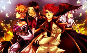 Rating: Safe Score: 9 Tags: beatrice male ronove umineko_no_naku_koro_ni ushiromiya_battler virgilia User: HawthorneKitty