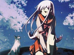 Rating: Safe Score: 19 Tags: animal aquaplus cat leaf long_hair lucy_maria_misora pink_hair red_eyes seifuku to_heart to_heart_2 tree User: Oyashiro-sama