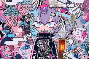 Rating: Safe Score: 25 Tags: animal bandaid crab original polychromatic purple_hair short_hair techgirl teracoot waifu2x User: otaku_emmy