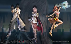 Rating: Safe Score: 46 Tags: final_fantasy final_fantasy_xiii lightning_farron oerba_dia_vanille snow_villiers zoom_layer User: Darkmaker