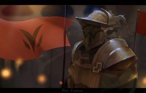Rating: Safe Score: 66 Tags: armor dark el-zheng original pixiv_fantasia User: Flandre93