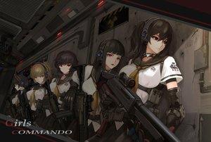 Rating: Safe Score: 110 Tags: group gun headphones original shou_mai weapon User: Avenger
