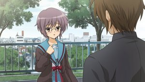 Rating: Safe Score: 30 Tags: game_cg koizumi_itsuki nagato_yuki suzumiya_haruhi_no_tsuisou suzumiya_haruhi_no_yuutsu User: SciFi