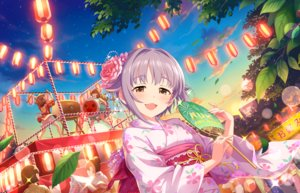 Rating: Safe Score: 12 Tags: brown_eyes cat_smile clouds drums fan festival group idolmaster idolmaster_cinderella_girls idolmaster_cinderella_girls_starlight_stage instrument japanese_clothes kimono koshimizu_sachiko leaves petals purple_hair short_hair sky sunset tagme_(artist) tagme_(character) User: RyuZU