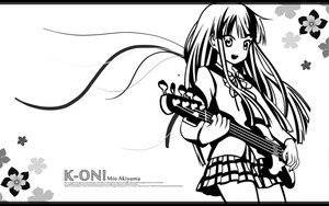 Rating: Safe Score: 11 Tags: k-on! polychromatic white User: pantu