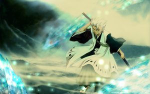 Rating: Safe Score: 6 Tags: all_male bleach hitsugaya_toushirou male sword weapon User: Oyashiro-sama