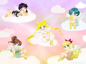 Rating: Safe Score: 18 Tags: aino_minako angel chibi clouds hino_rei kino_makoto mizuno_ami sailor_moon tsukino_usagi User: Oyashiro-sama