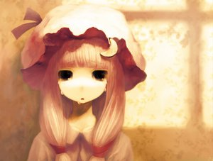 Rating: Safe Score: 57 Tags: black_eyes blonde_hair hat long_hair patchouli_knowledge tears touhou User: Oyashiro-sama