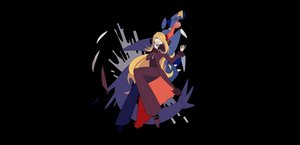 Rating: Safe Score: 14 Tags: black cynthia_(pokemon) garchomp pokemon shirona zero_(jckz2334) User: FormX