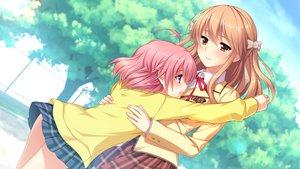 Rating: Safe Score: 66 Tags: crying fujikawa_runa game_cg hatsukoi_1/1 hug morino_yukino User: Maboroshi