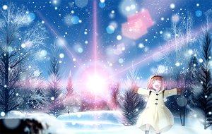 Rating: Safe Score: 63 Tags: forest kanon landscape scenic skyt2 snow tree tsukimiya_ayu winter User: HawthorneKitty