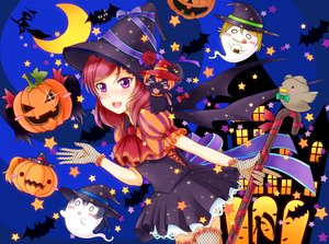 Rating: Safe Score: 23 Tags: animal ayase_eri blush bow cat hat hiro9779 hoshizora_rin kousaka_honoka love_live!_school_idol_project moon nishikino_maki pumpkin purple_eyes red_hair ribbons short_hair silhouette sonoda_umi witch_hat yazawa_nico User: RyuZU