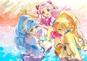 Rating: Safe Score: 28 Tags: blonde_hair blue_eyes blue_hair hugtto_precure kagayaki_homare long_hair nono_hana pink_eyes pink_hair ponytail precure xing yakushiji_saaya yellow_eyes User: urakawa112375