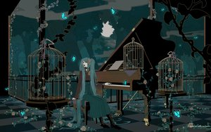 Rating: Safe Score: 54 Tags: boots butterfly cage clouds eris flowers hatsune_miku instrument japanese_clothes kimono long_hair mikumix moon night piano rose vocaloid User: anaraquelk2