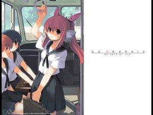 Rating: Safe Score: 13 Tags: gagraphic jiji logo school_uniform watermark User: Oyashiro-sama
