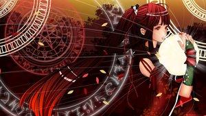 Rating: Safe Score: 88 Tags: gloves kuzakawe_maron magic ponytail red_eyes red_hair tagme wristwear User: gnarf1975