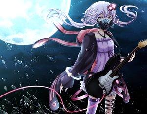 Rating: Safe Score: 94 Tags: aliasing moon vocaloid voiceroid yamagara yuzuki_yukari User: luckyluna