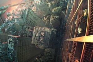 Rating: Safe Score: 19 Tags: building city original polychromatic scenic tokunaga_akimasa User: FormX