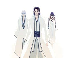 Rating: Safe Score: 21 Tags: aizen_sousuke all_male bleach ichimaru_gin male tousen_kaname User: Oyashiro-sama