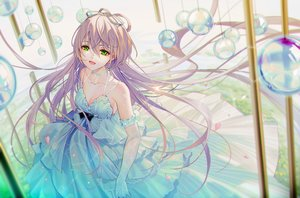 Rating: Safe Score: 70 Tags: luo_tianyi tidsean vocaloid vocaloid_china User: Fepple