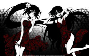 Rating: Safe Score: 97 Tags: higurashi_no_naku_koro_ni sonozaki_mion sonozaki_shion twins User: 秀悟