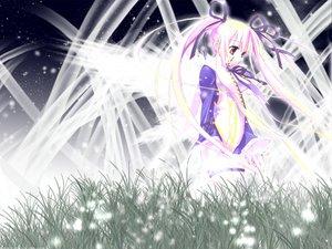 Rating: Safe Score: 23 Tags: pink_hair princess_witches red_eyes ribbons User: Oyashiro-sama