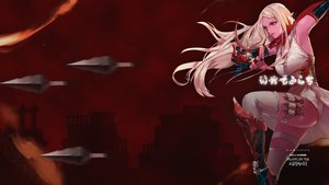Rating: Safe Score: 31 Tags: blonde_hair dark dungeon_and_fighter elbow_gloves knife long_hair ninja red red_eyes weapon User: _Egoist