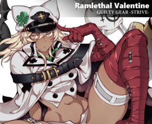 Rating: Safe Score: 22 Tags: animal_ears blonde_hair boots cape cropped dark_skin elbow_gloves fishine garter gloves guilty_gear hat ramlethal_valentine short_hair shorts spread_legs thighhighs waifu2x yellow_eyes User: otaku_emmy