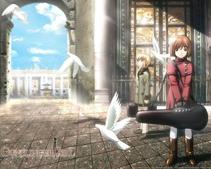 Rating: Safe Score: 20 Tags: animal bird gunslinger_girl henrietta rico User: Oyashiro-sama