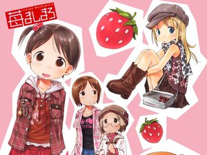 Rating: Safe Score: 2 Tags: ana_coppola food fruit ichigo_mashimaro itou_chika itou_nobue jpeg_artifacts sakuragi_matsuri strawberry User: Oyashiro-sama