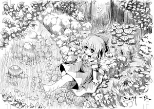 Rating: Safe Score: 29 Tags: bow cirno etogami_kazuya fairy monochrome short_hair sketch touhou water wings User: PAIIS