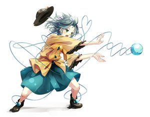 Rating: Safe Score: 46 Tags: aqua_hair boots dragonball gorilla_(bun0615) green_eyes hat komeiji_koishi parody short_hair skirt touhou white User: FormX