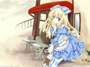 Rating: Safe Score: 39 Tags: alice_(wonderland) alice_in_wonderland blonde_hair blue_eyes dress lolita_fashion miyashita_miki signed vector User: korokun