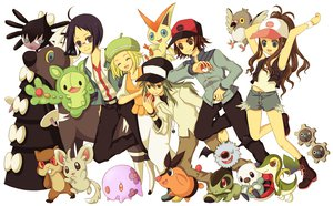Rating: Safe Score: 19 Tags: bel_(pokemon) cheren n pokemon touko_(pokemon) touya User: HawthorneKitty