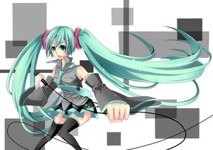 Rating: Safe Score: 13 Tags: hatsune_miku twintails vocaloid User: HawthorneKitty