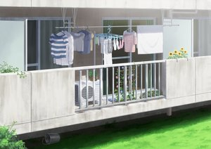 Rating: Safe Score: 33 Tags: building flowers grass hirose_yuki nobody original scenic shirt socks sunflower towel User: otaku_emmy