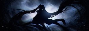 Rating: Safe Score: 91 Tags: dark hatsune_miku lengchan_(fu626878068) long_hair silhouette twintails underwater vocaloid water User: BattlequeenYume