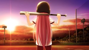 Rating: Safe Score: 20 Tags: angel_beats! baseball baseball_bat game_cg na-ga sport yui_(angel_beats!) User: Tensa