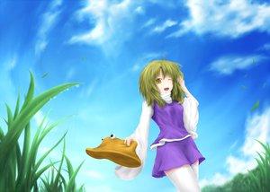 Rating: Safe Score: 27 Tags: husky_(artist) moriya_suwako sky tagme touhou User: Zolxys
