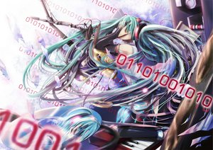 Rating: Safe Score: 28 Tags: 23ichiya aqua_eyes aqua_hair elbow_gloves gloves guitar hatsune_miku instrument long_hair microphone miku_append piano twintails vocaloid User: SciFi