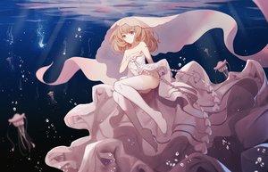 Rating: Safe Score: 71 Tags: asa_ni_haru noah_fantasy underwater water User: luckyluna