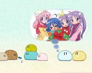 Rating: Safe Score: 27 Tags: christmas clannad crossover dango_(clannad) hiiragi_kagami hiiragi_tsukasa izumi_konata lucky_star takara_miyuki User: Oyashiro-sama