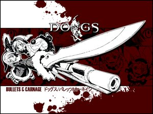 Rating: Safe Score: 18 Tags: dogs:_bullets_&_carnage gun knife luki miwa_shirow noki twins weapon User: Oyashiro-sama