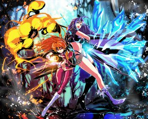 Rating: Safe Score: 126 Tags: lina_inverse naga_the_serpent s_tanly slayers User: opai