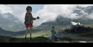 Rating: Safe Score: 53 Tags: asuteroid boots brown_eyes brown_hair clouds landscape pokemon scenic short_hair skirt sobble yuuri_(pokemon) User: mattiasc02
