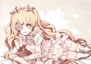 Rating: Safe Score: 30 Tags: blonde_hair boots dise dress flowers kirakishou long_hair rozen_maiden yellow_eyes User: RyuZU