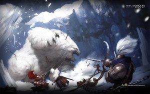 Rating: Safe Score: 47 Tags: animal armor bear blood mabinogi mabinogi_heroes original snow weapon User: Tiki